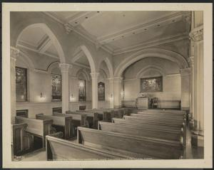 Association Residence chapel -- image from the Museum of the City of New York