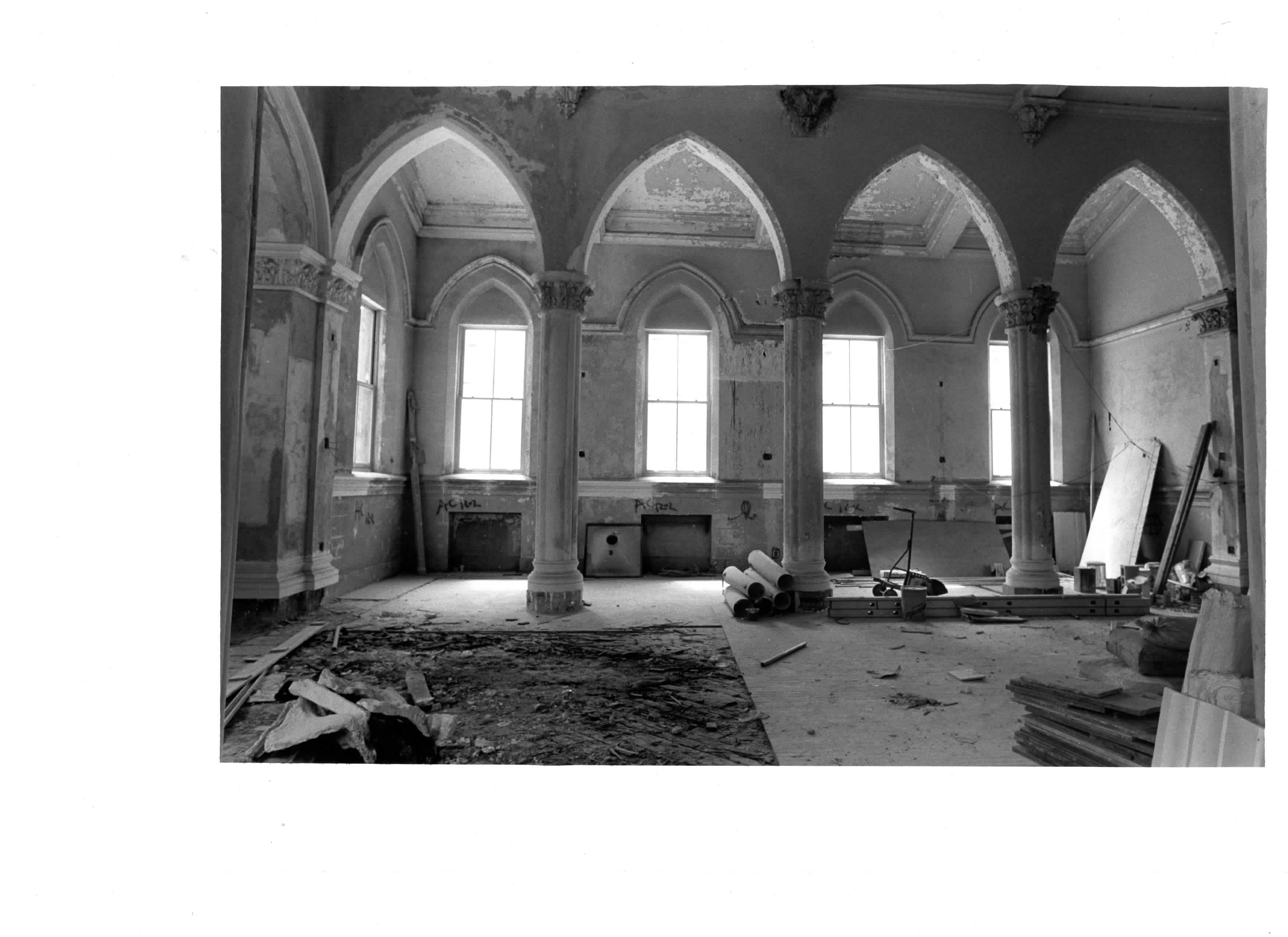 The Chapel Being Reconstructed