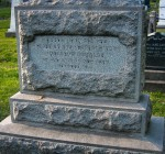 gravesite of the Respectable Aged Indigent Females, Courtesy of Eric Washington