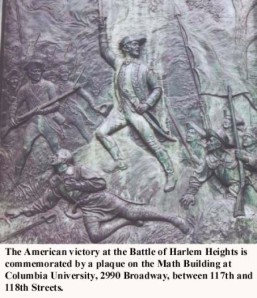 Plaque Commemorating Battle at BWAY 118th Street BHH2