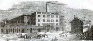 Early image of the Lion Brewery