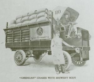 Lion Brewery truck
