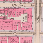 1916 Real Estate Map