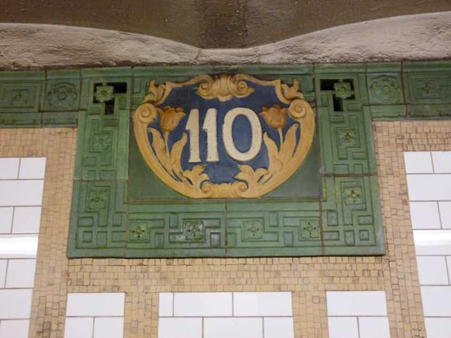 110th Street stop on the Broadway line