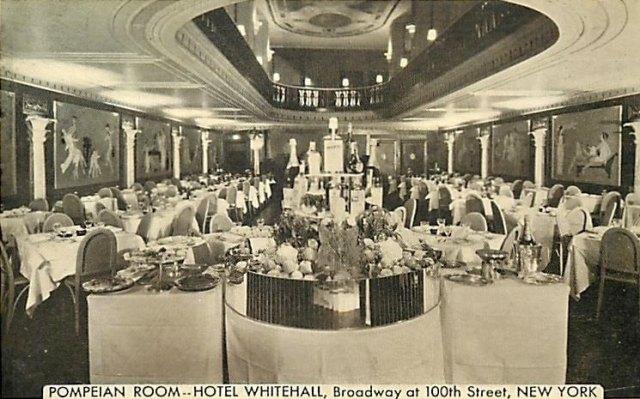 Whitehall Hotel Restaurant, photo thanks to Caitlin Hawke