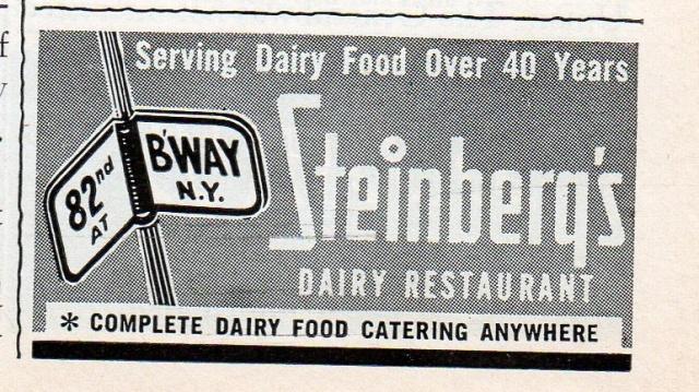 Steinberg's advertisement