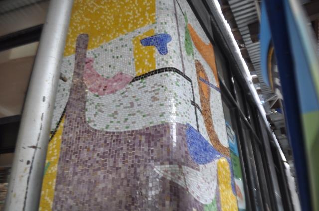 Riker's mosaic Broadway at 104th Street Pam Tice photo