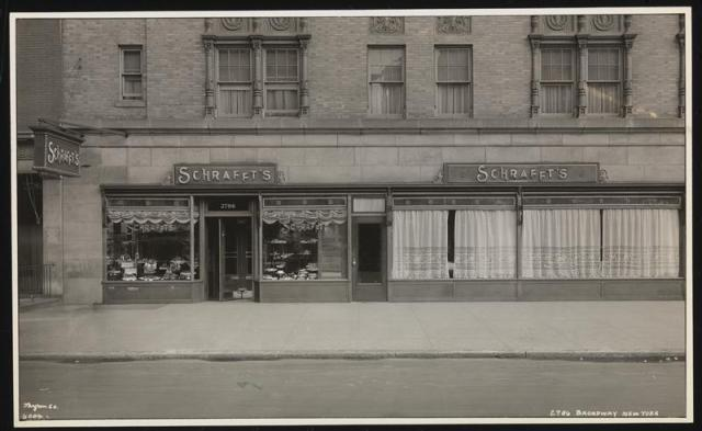 Schrafft's at 2786 Broadway, 1930, MCNY photo