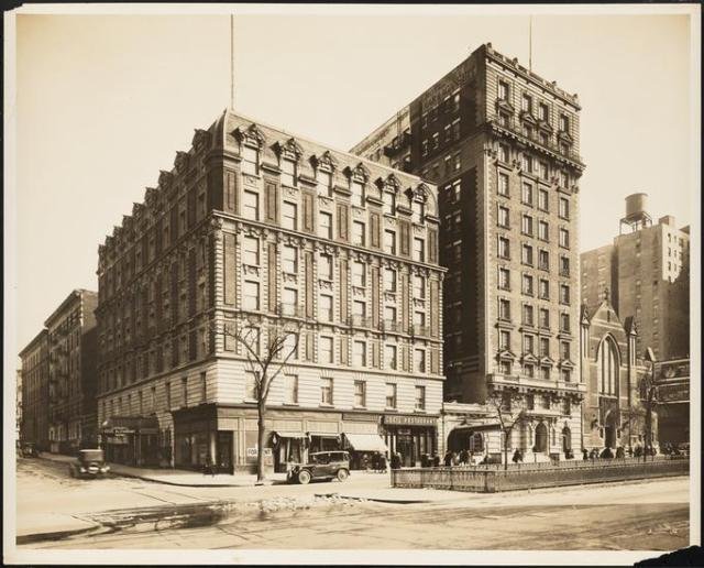 Cecil Restaurant Broadway at 94th Street 1924