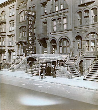 Chateau Stanley on West 97th where PS 163 is today