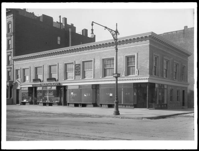 Colonial Restaurant c1910 Broadway at 109 Street
